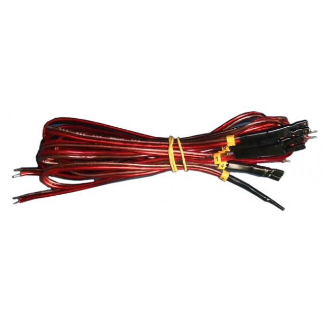 Internal connection cable for injectors
